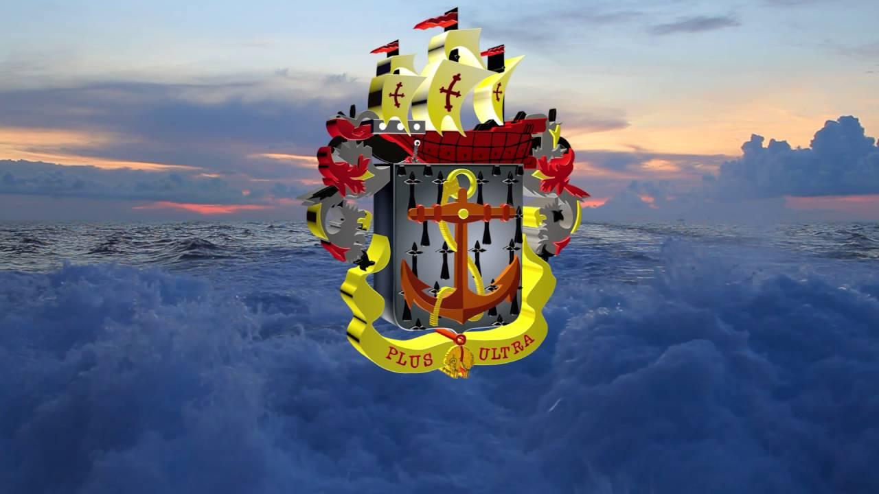 Escudo De La Armada Nacional Animado En 3d Youtube