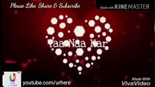 Tu hai meri kiran 😆😍😘 Lovely whatsapp status love song from Darr l Download w.mp4
