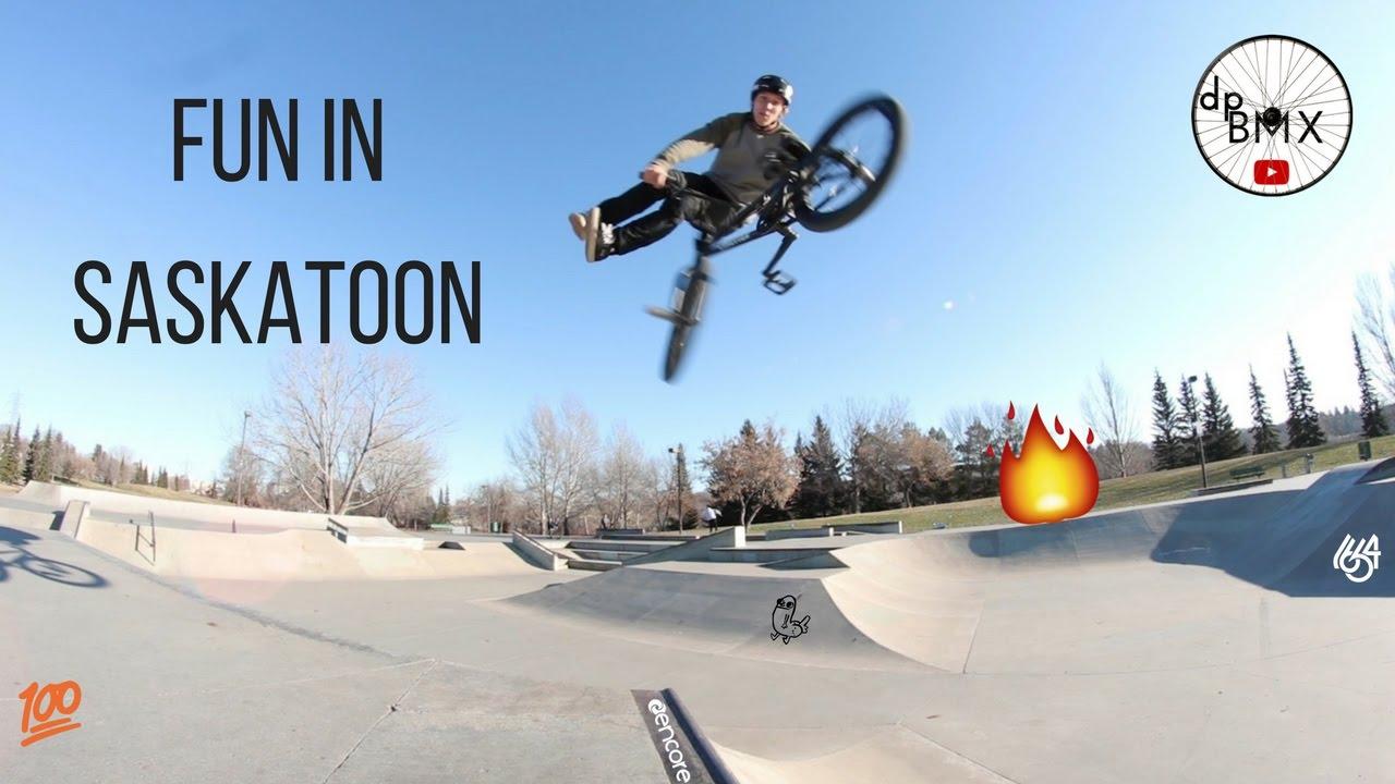 Saskatoon Skatepark is AWESOME!