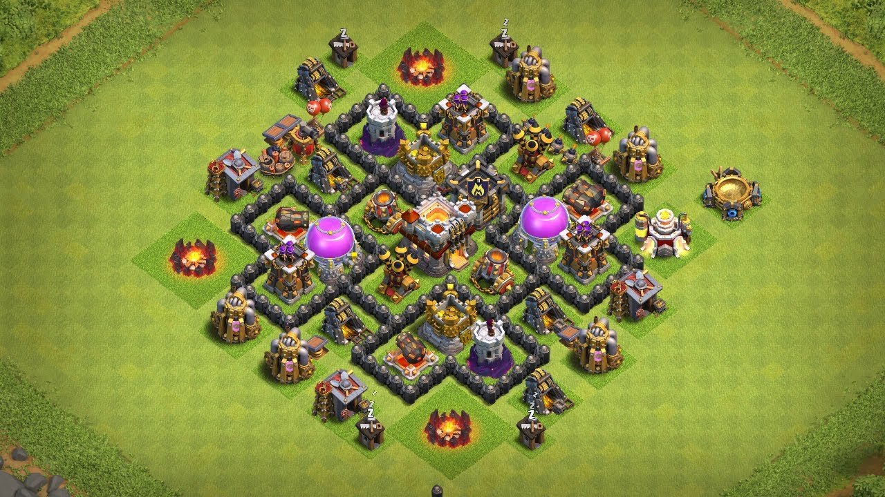 Undefeated Coc Th 6 Base 5