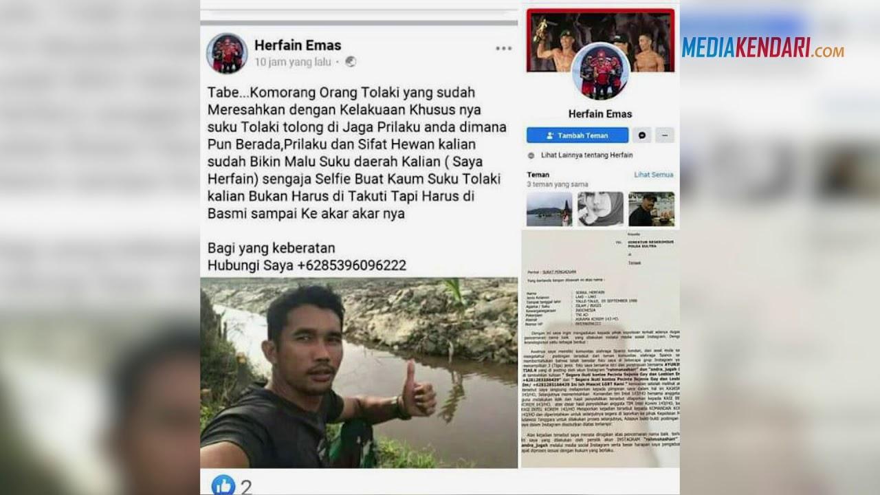 Cemarkan Nama Baik Serka Herfain, Begini Penjelasan Akun Facebook Rahman Ashar