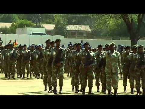 South African National Defence Force:  Women's Month Celebration Parade.
