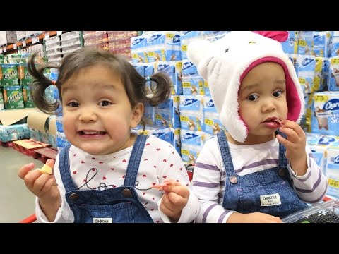 The Reality of Shopping with Toddlers - November 16, 2016 -  ItsJudysLife Vlogs