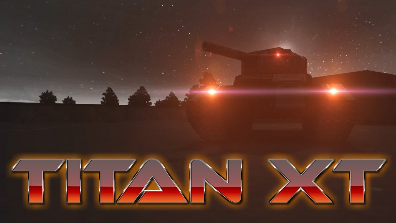 Tanki Online  Titan XT short promo