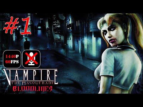 Vampire: The Masquerade - Bloodlines #1 - Акт Превращения Смертного в Вампира
