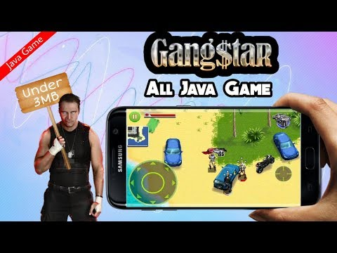 Gangstar Java For Android By Tech Shakib