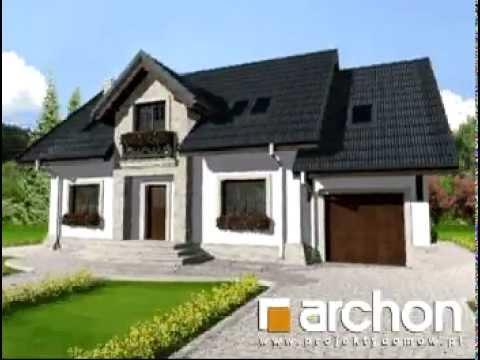 Dom W Lucernie 3 Archon Projekty Domów Wwwarchonpl Youtube
