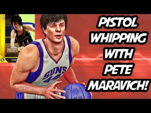 NBA 2K16 MyTeam - Pistol Whipping w/ Pete Maravich - JV Squad - Full Game Friday