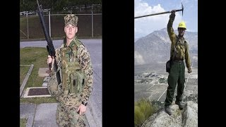 Casey Cole Talks about the BLM Veterans Fire Crew