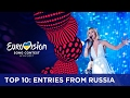 TOP 10: Entries from Russia