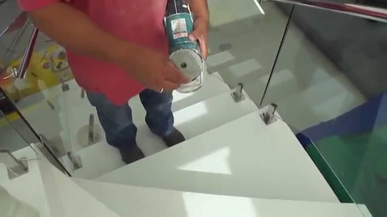 COMO TIRAR PINGOS DE SOLDA E ACIDO EM ESCADA DE NANO-GLASS?-Roaln III ...