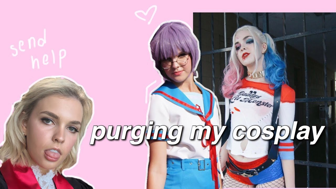 TRYING ON & DECLUTTERING ALL MY COSPLAYS + WIGS  (ten years worth)