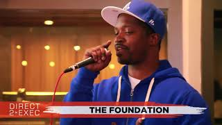 The Foundation Performs at Direct 2 Exec NYC 4/20/18 -  Atlantic Records