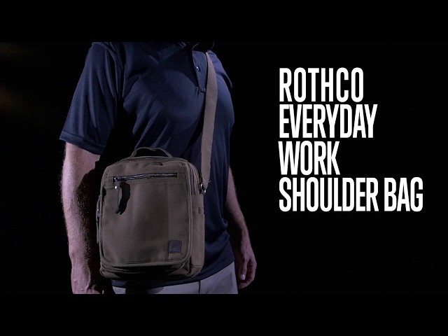 Everyday Work (EDC) Shoulder Bag - Rothco Product Breakdown