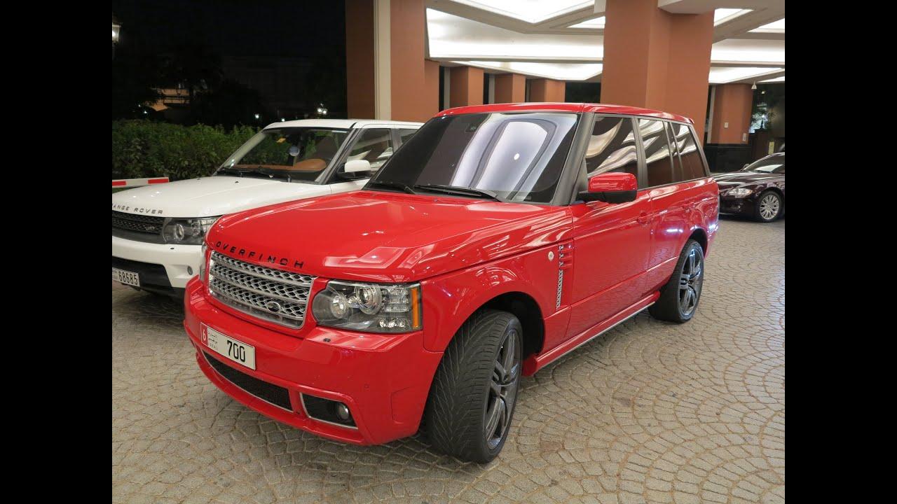 Overfinch Vogue GT - Range Rover - YouTube