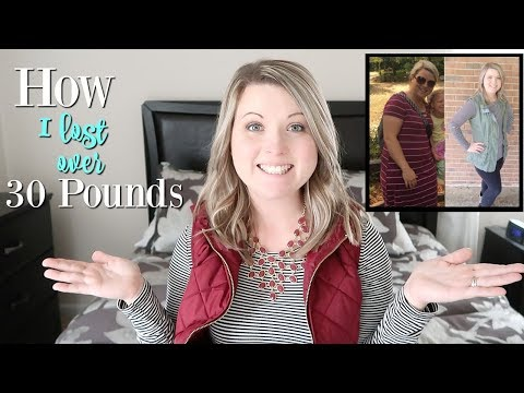 HOW I LOST OVER 30 POUNDS WITH WEIGHT WATCHERS!