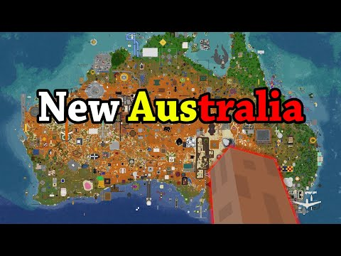 I asked 300 Minecraft Players to build a New Australia