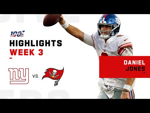 Every Pass & Run from Daniel Jones' 1st Career Start | NFL 2019 Highlights