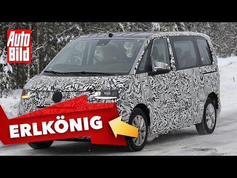 VW Bus T7 (2020): Bulli - Erlkönig - Neuvorstellung - Testfahrt - Info