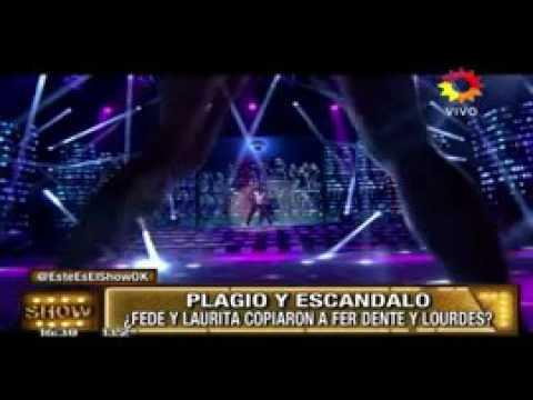 ¿Laurita Fernández y Fede Bal plagiaron la coreografía de Lourdes Sánchez y Fer Dente?