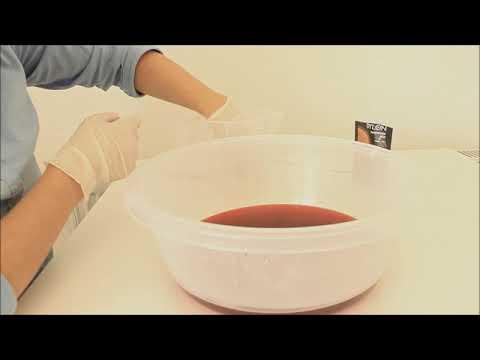 Makrome Tüy Yaprağa Dylon Elde Boyama Ile Deep Dye Tekniği Nasıl Uygulanır ?