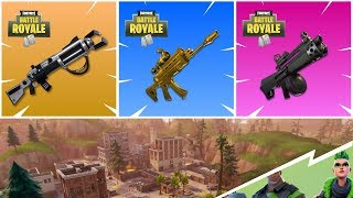 *HOW TO GET THE BEST LEGENDARY WEAPONS IN FORTNITE BATTLE ROYALE SEASON 5*