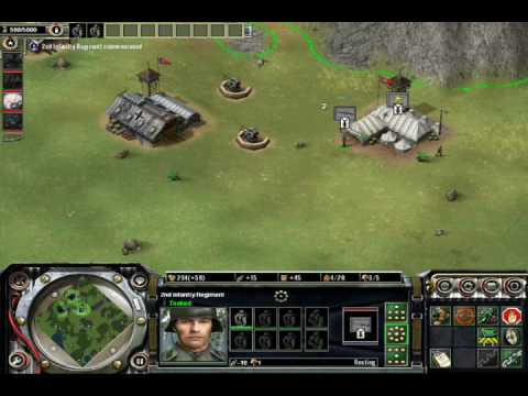 Axis & Allies RTS General Tactics in game play