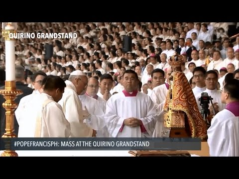 Laudate Dominum - Pope Francis Mass at Luneta Entrance Song
