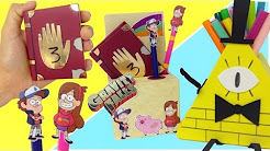 Manualidades De Gravity Falls Youtube