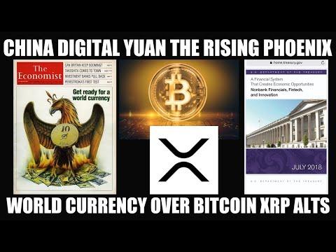 CHINA DIGITAL YUAN RISING OF THE PHOENIX! TRUMP EXECUTIVE ORDER 13772 GIVES RISE TO BITCOIN XRP ALTS