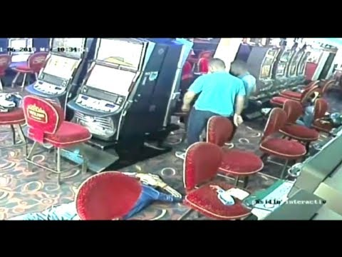 En video quedó registrado intento de robo a un casino en Girón, Santander