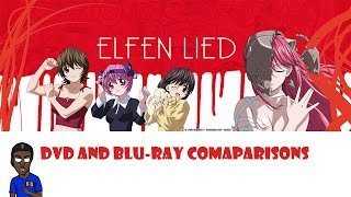 Anime DVD and Blu-ray Release Comparison:Elfen Lied