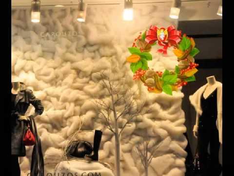 Vinilos decorativos navide os para vidrieras y escaparates for Decoracion de vidrieras de ropa