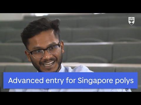 Singapore polytechnics advanced entry agreement with UoD