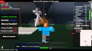 roblox crap - tin gets hit by a tornado and gushes blood everywhere while crying blood