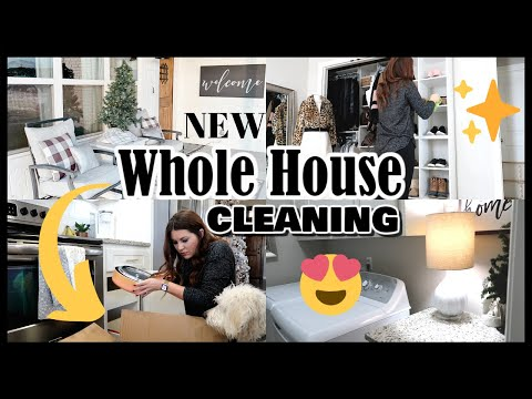 NEW WHOLE HOUSE CLEANING   EXTREME CLEANING MOTIVATION   ENTIRE HOUSE CLEAN WITH ME