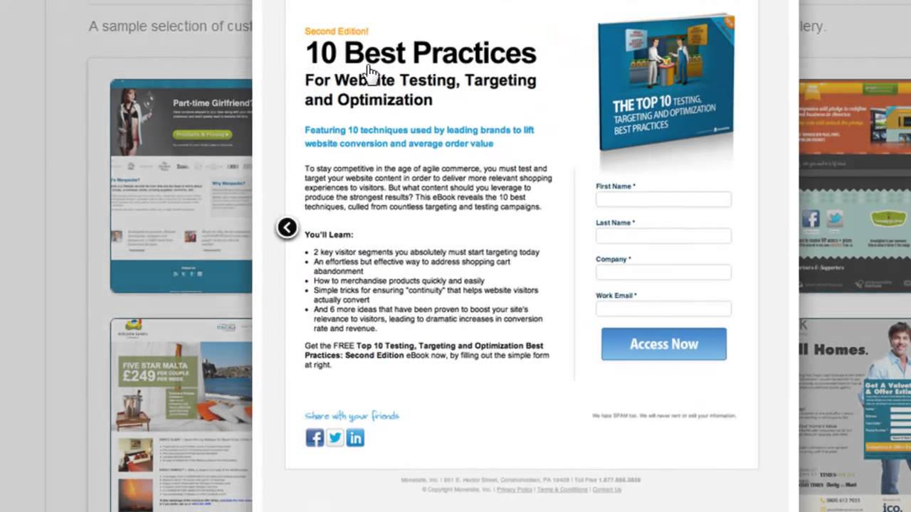 How to Create a New Custom Landing Page Using Hubspot Template ...