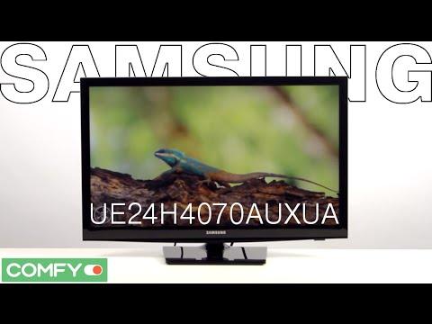 Samsung UE24H4070AUXUA - телевизор с функцией картинка в картинке - Видеодемонстрация от Comfy