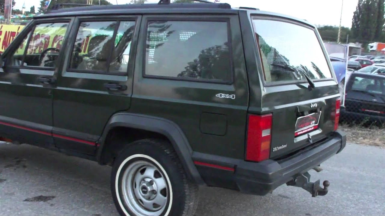 jeep cherokee 2 5 td country 5d youtube. Black Bedroom Furniture Sets. Home Design Ideas