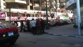エジプト・アレクサンドリア(2)車窓から眺める街角