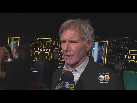 Stars Hit Red Carpet At 'Star Wars: The Force Awakens' World Premiere