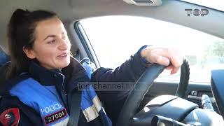 """""""Top Story"""", motra e Ibrahim Bashës tregon pasionin e saj për Policinë e Shtetit"""