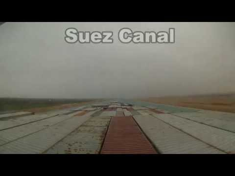 Suez Canal Northbound Transit
