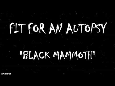 Fit For An Autopsy-Black Mammoth Instrumental Backing Track