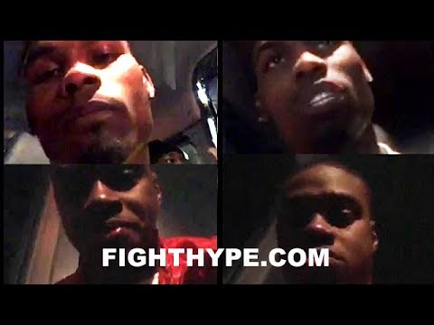"""ERROL SPENCE AND JERMELL CHARLO DEBATE BRONER AND DAVIS BEEF: """"I AIN'T HATING ON ANOTHER BROTHA"""""""