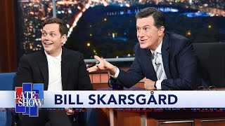 Bill Skarsgård Teaches Colbert The