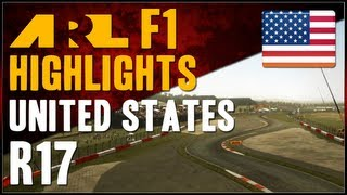 F1 2012 | ARL F1 - S6 Round 17 - United States Grand Prix (Commentary)