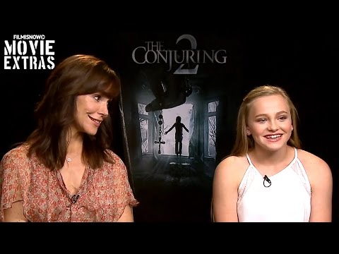 Frances O'Connor & Madison Wolfe talk about The Conjuring 2 2016