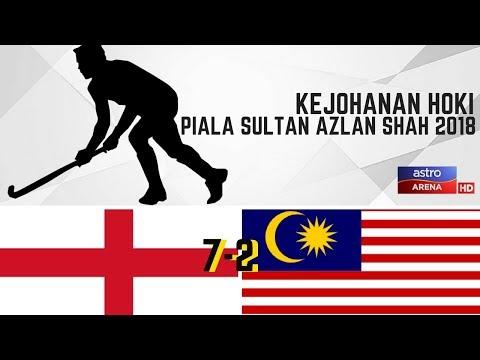 England 7-2 Malaysia | Sorotan Aksi Masa Penuh | Hoki Piala Sultan Azlan Shah 2018