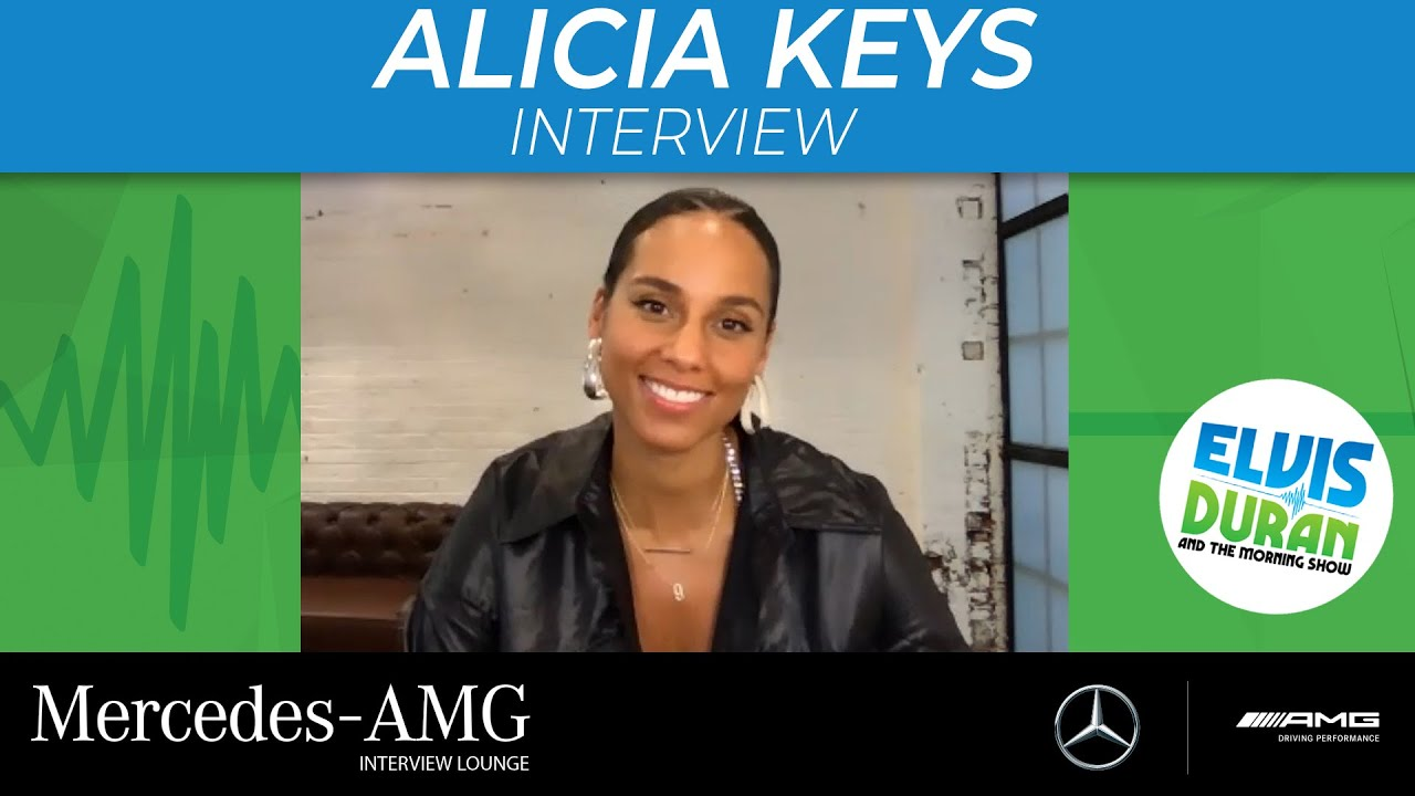 Alicia Keys 'Feel Optimistic' About 2021, Planning Tour For Next Summer | Elvis Duran Show